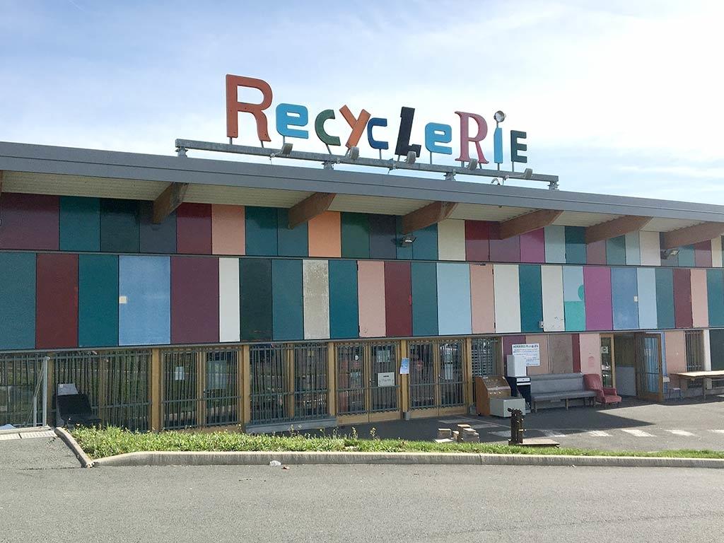 Trident service Recyclerie de tri